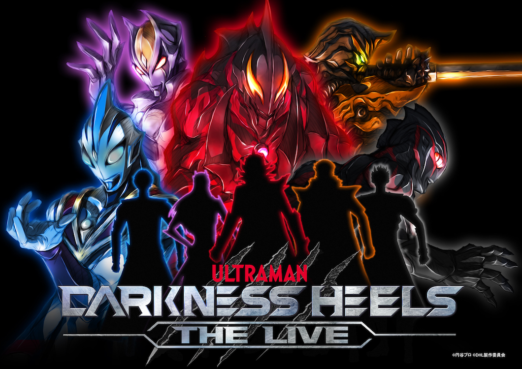 DARKNESS HEELS~THE LIVE