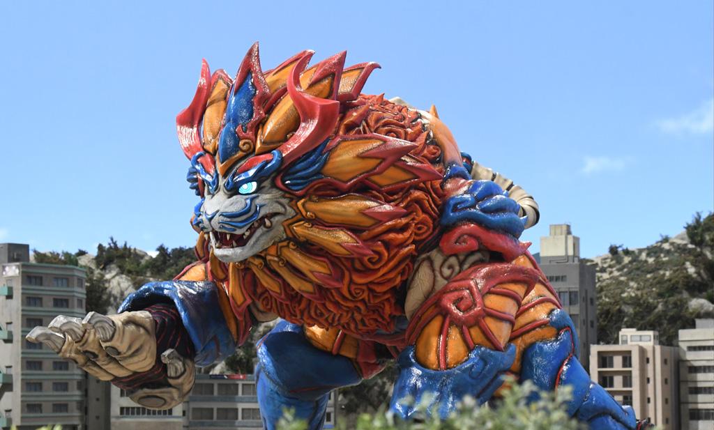 獅子聖獣グクルシーサー