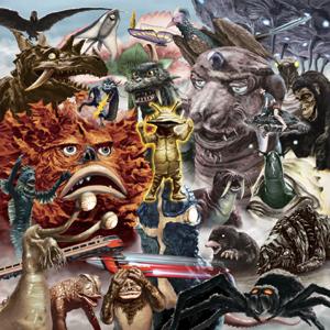 『総天然色 ウルトラQ リターンズ』怪獣絵師 開田裕治とTOYの世界 ... 総天然色ウルトラQ