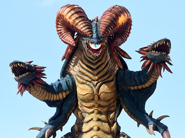 石化魔獣ガーゴルゴン