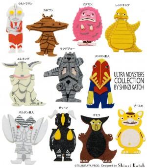 ウルトラマンシリーズと雑貨デザイナーshinzi Katoh氏がコラボレーション