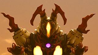 ベリアル融合獣 ペダニウムゼットン
